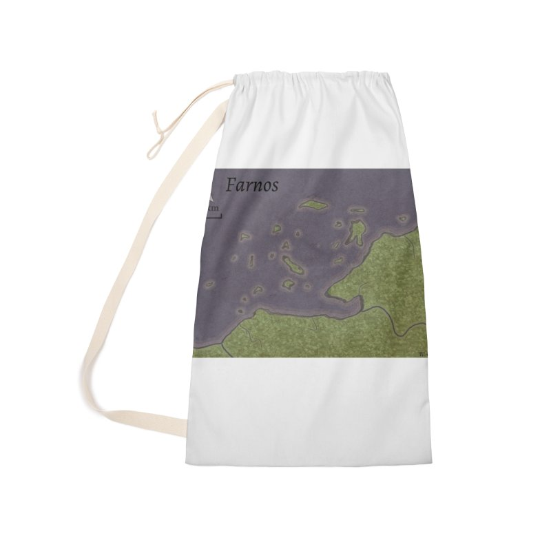 Farnos Accessories Laundry Bag Bag by wchwriter's Artist Shop