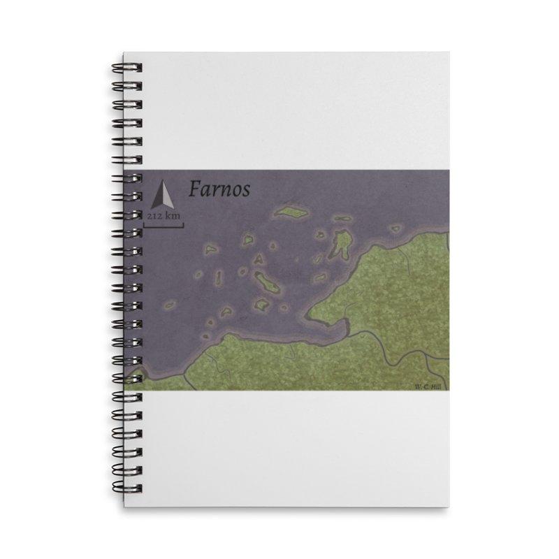 Farnos Accessories Lined Spiral Notebook by wchwriter's Artist Shop