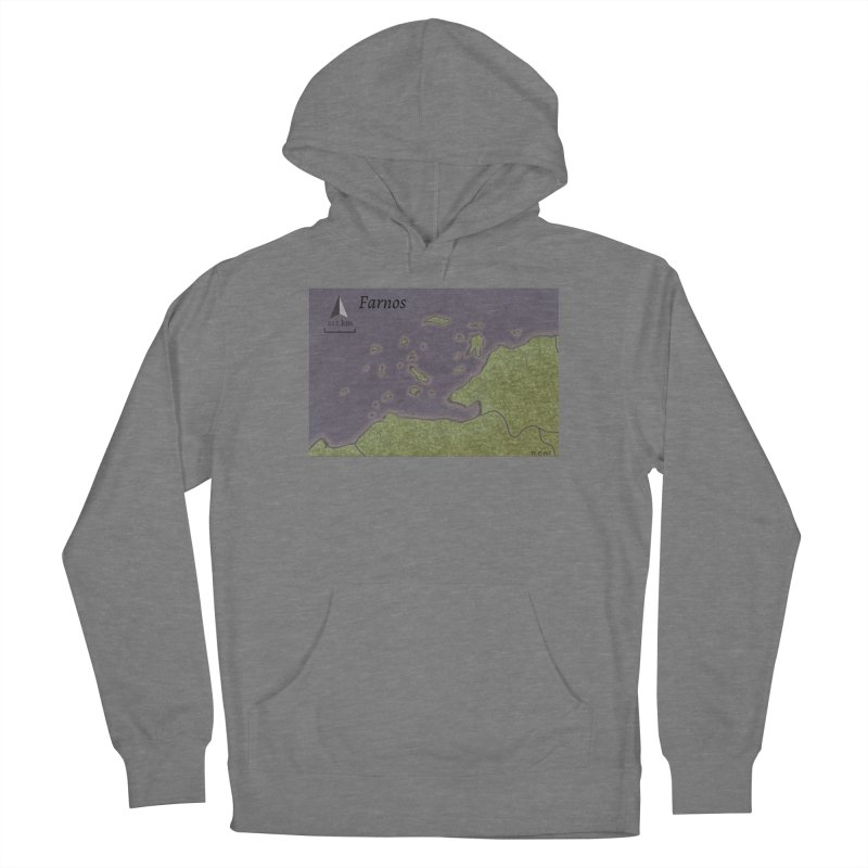 Farnos Men's French Terry Pullover Hoody by wchwriter's Artist Shop