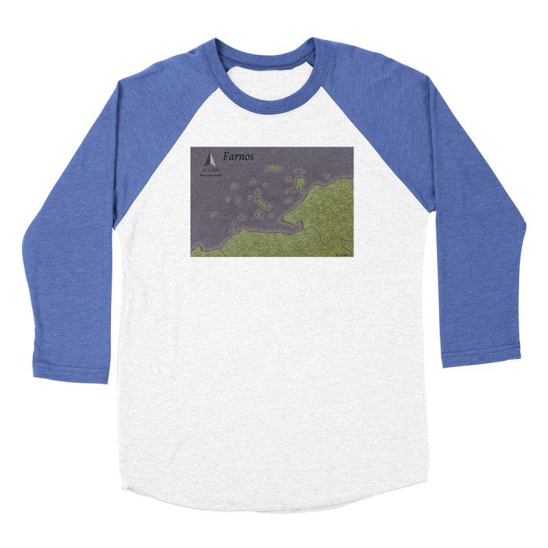 Farnos Women's Baseball Triblend Longsleeve T-Shirt by wchwriter's Artist Shop