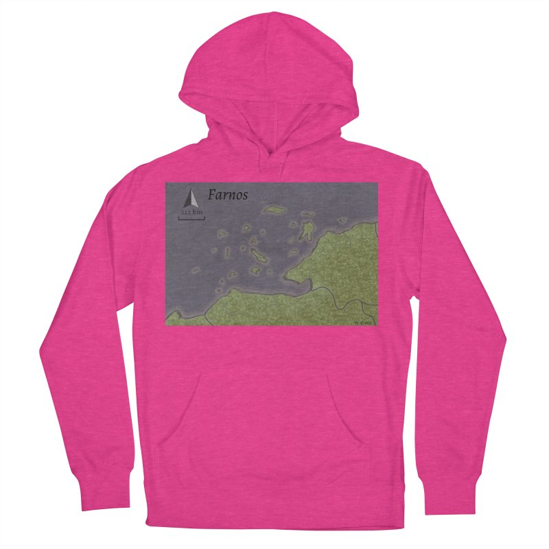 Farnos Women's French Terry Pullover Hoody by wchwriter's Artist Shop