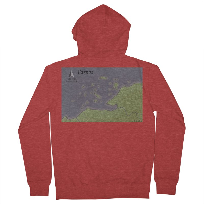 Farnos Women's French Terry Zip-Up Hoody by wchwriter's Artist Shop