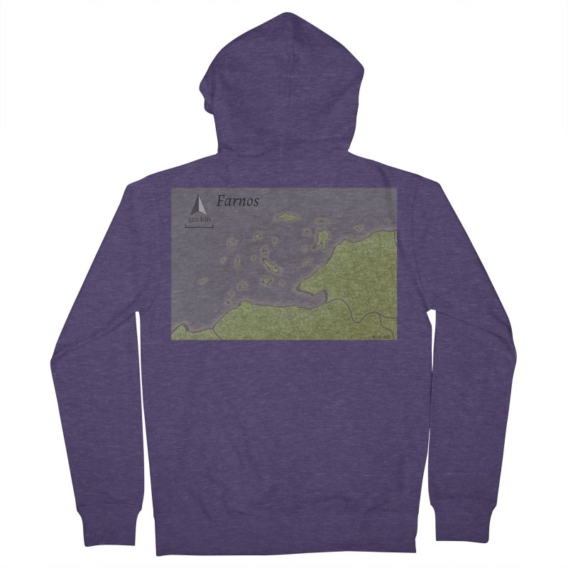 Farnos Men's French Terry Zip-Up Hoody by wchwriter's Artist Shop