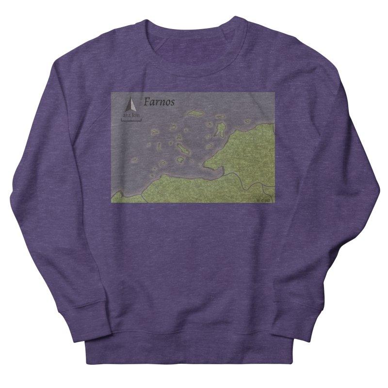 Farnos Men's French Terry Sweatshirt by wchwriter's Artist Shop