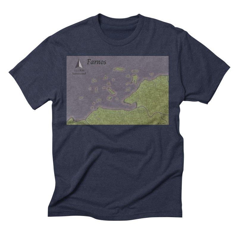 Farnos Men's Triblend T-Shirt by wchwriter's Artist Shop