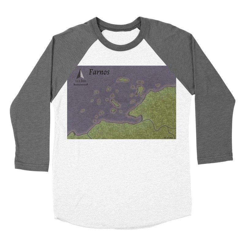 Farnos Men's Baseball Triblend Longsleeve T-Shirt by wchwriter's Artist Shop