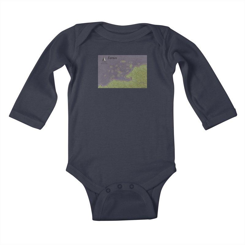 Farnos Kids Baby Longsleeve Bodysuit by wchwriter's Artist Shop