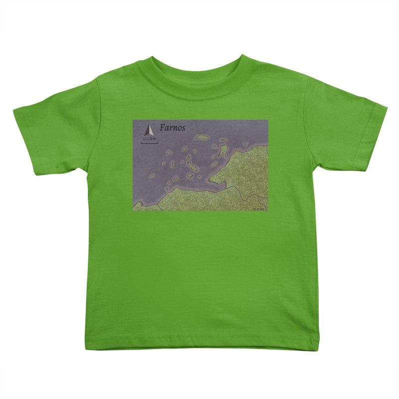 Farnos Kids Toddler T-Shirt by wchwriter's Artist Shop