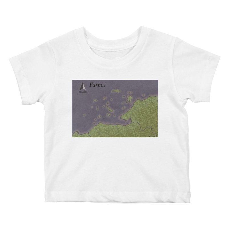 Farnos Kids Baby T-Shirt by wchwriter's Artist Shop
