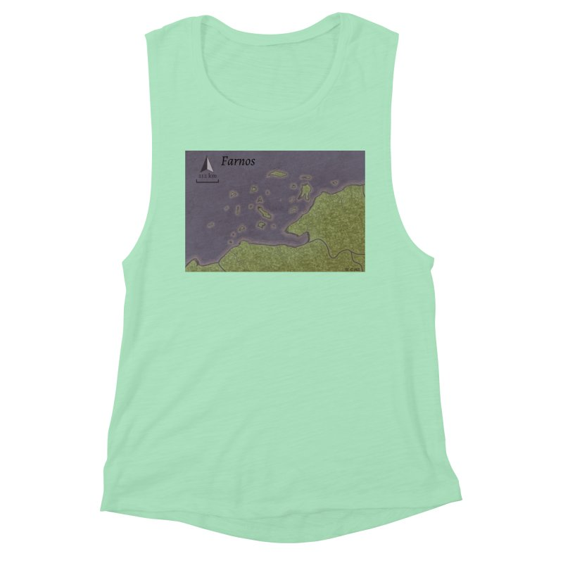 Farnos Women's Muscle Tank by wchwriter's Artist Shop