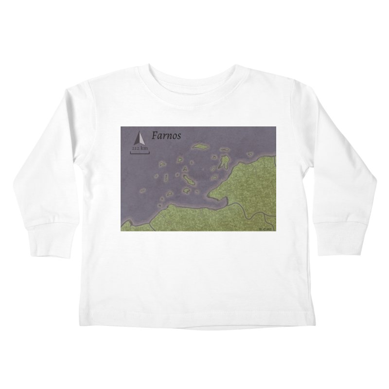 Farnos Kids Toddler Longsleeve T-Shirt by wchwriter's Artist Shop