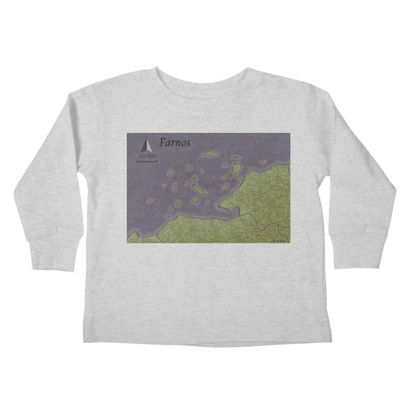 Farnos Kids Toddler Longsleeve T-Shirt by wchwriter's Artist Shop