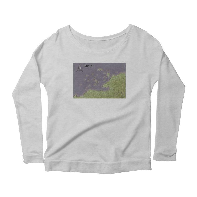 Farnos Women's Scoop Neck Longsleeve T-Shirt by wchwriter's Artist Shop