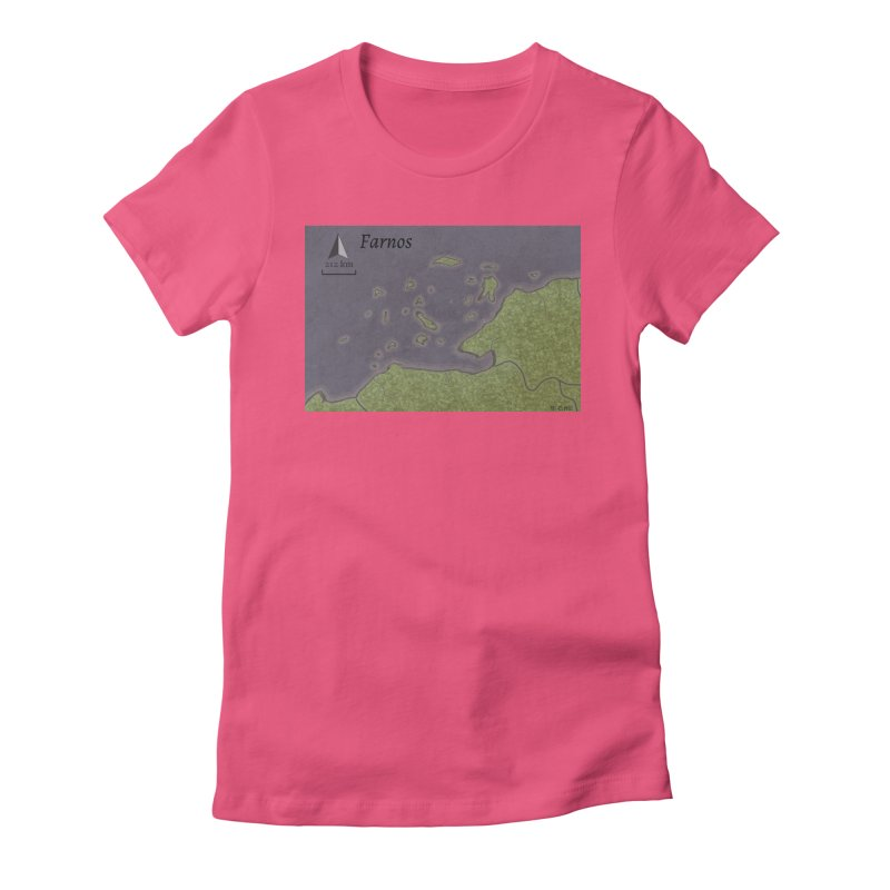 Farnos Women's Fitted T-Shirt by wchwriter's Artist Shop