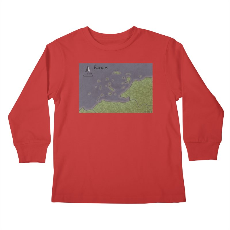 Farnos Kids Longsleeve T-Shirt by wchwriter's Artist Shop