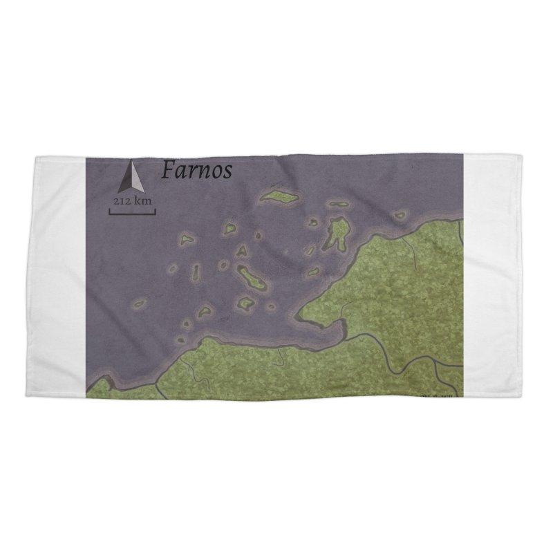 Farnos Accessories Beach Towel by wchwriter's Artist Shop