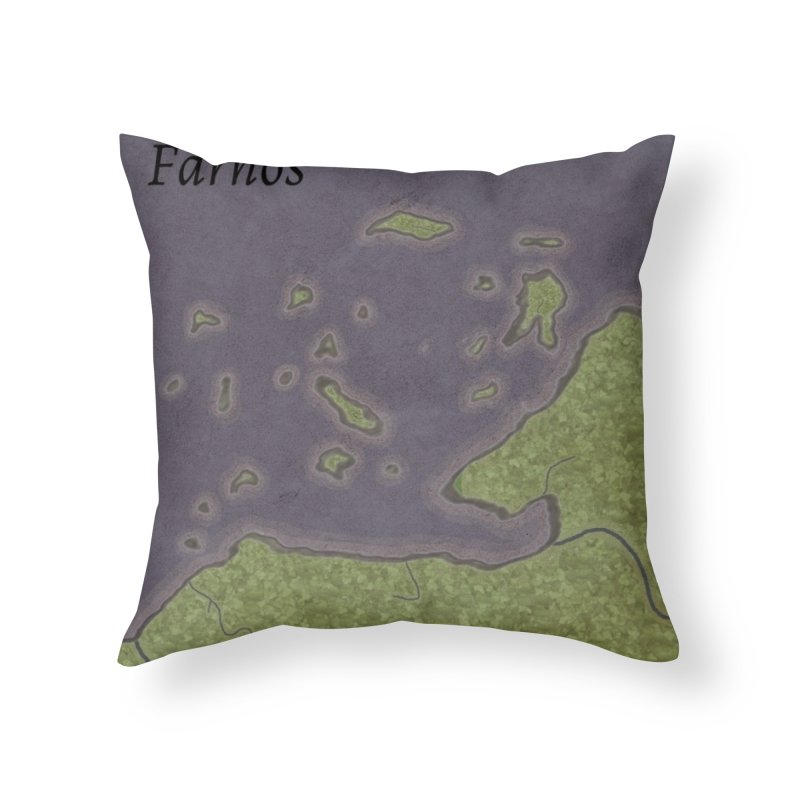 Farnos Home Throw Pillow by wchwriter's Artist Shop