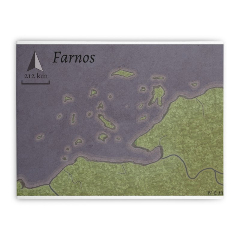 Farnos Home Stretched Canvas by wchwriter's Artist Shop