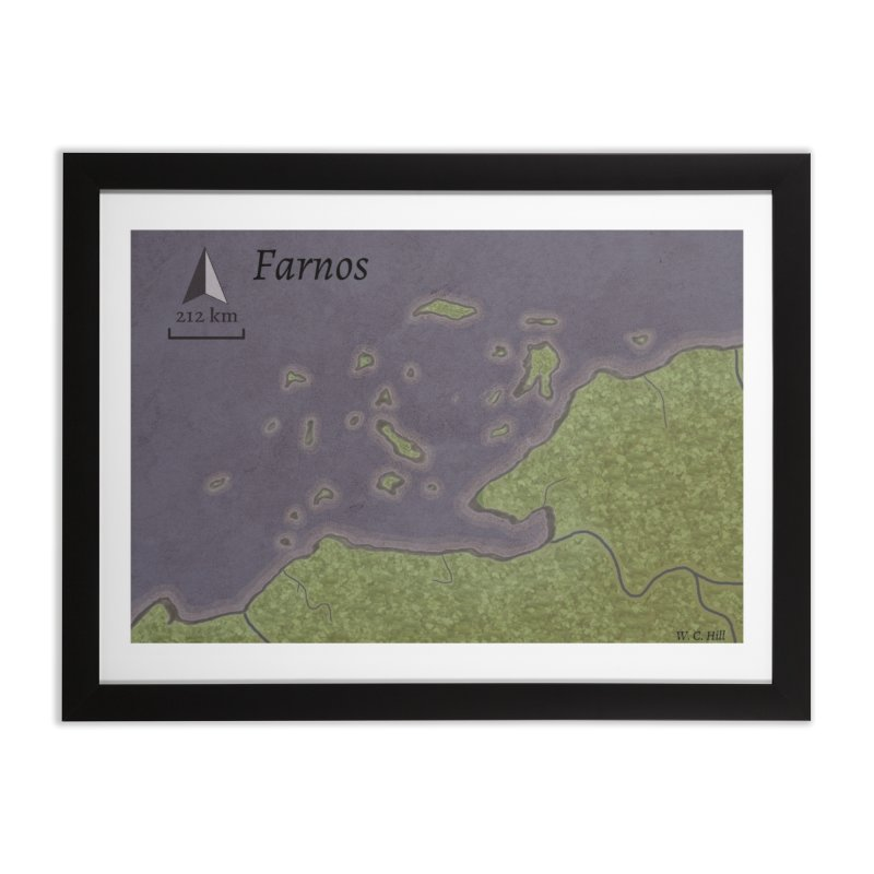 Farnos Home Framed Fine Art Print by wchwriter's Artist Shop