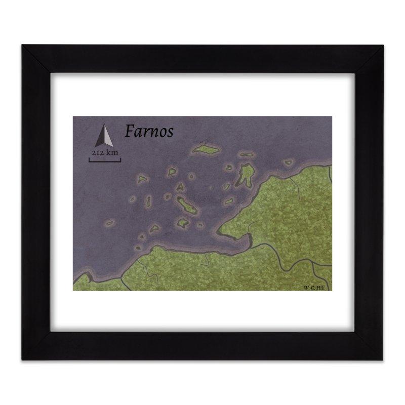 Farnos Home Framed Fine Art Print by wchwriter's Artist Shop