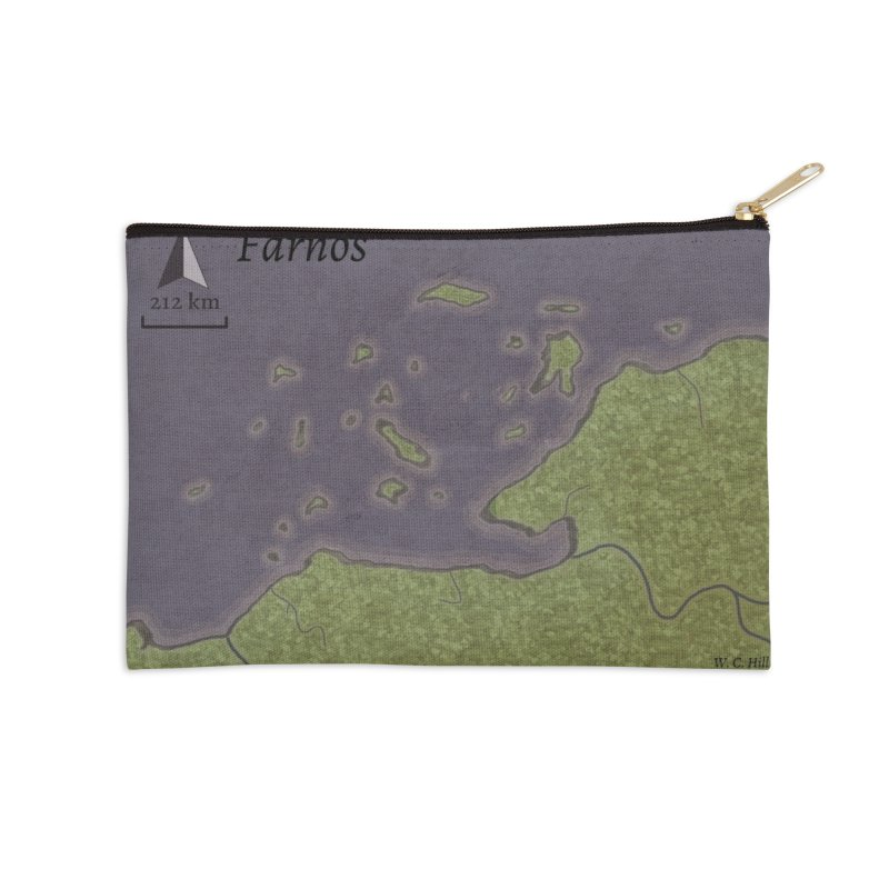 Farnos Accessories Zip Pouch by wchwriter's Artist Shop