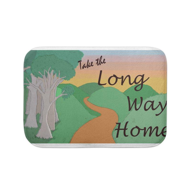 Take the Long Way Home Home Bath Mat by wchwriter's Artist Shop