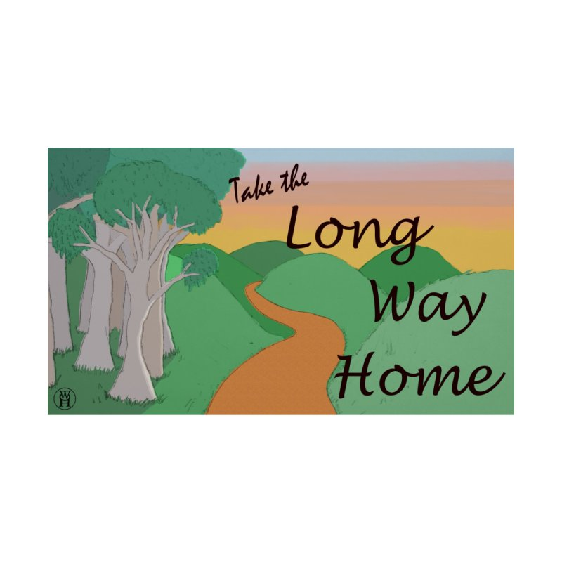 Take the Long Way Home Kids Toddler Pullover Hoody by wchwriter's Artist Shop