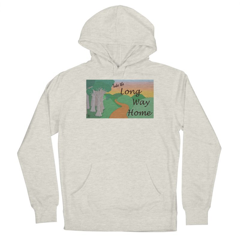 Take the Long Way Home Women's Pullover Hoody by wchwriter's Artist Shop