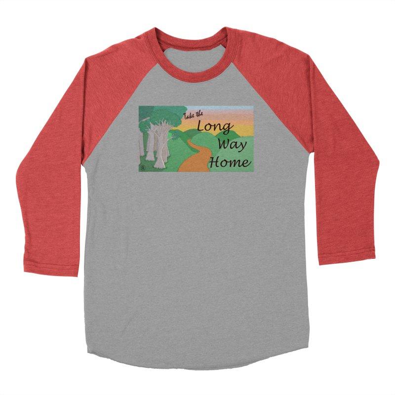 Take the Long Way Home Women's Baseball Triblend Longsleeve T-Shirt by wchwriter's Artist Shop