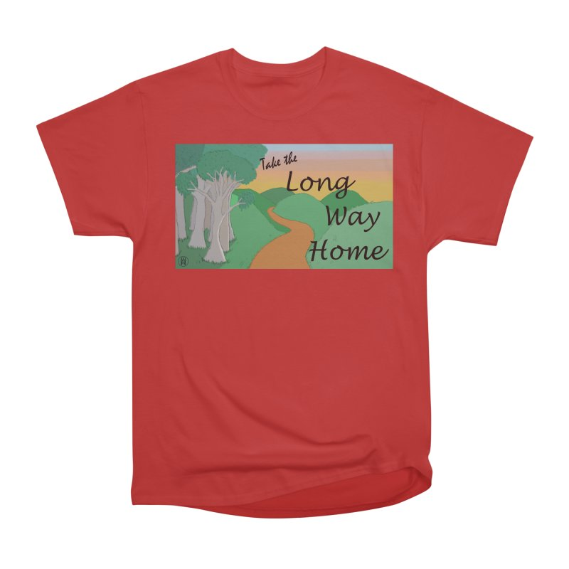 Take the Long Way Home Men's Heavyweight T-Shirt by wchwriter's Artist Shop