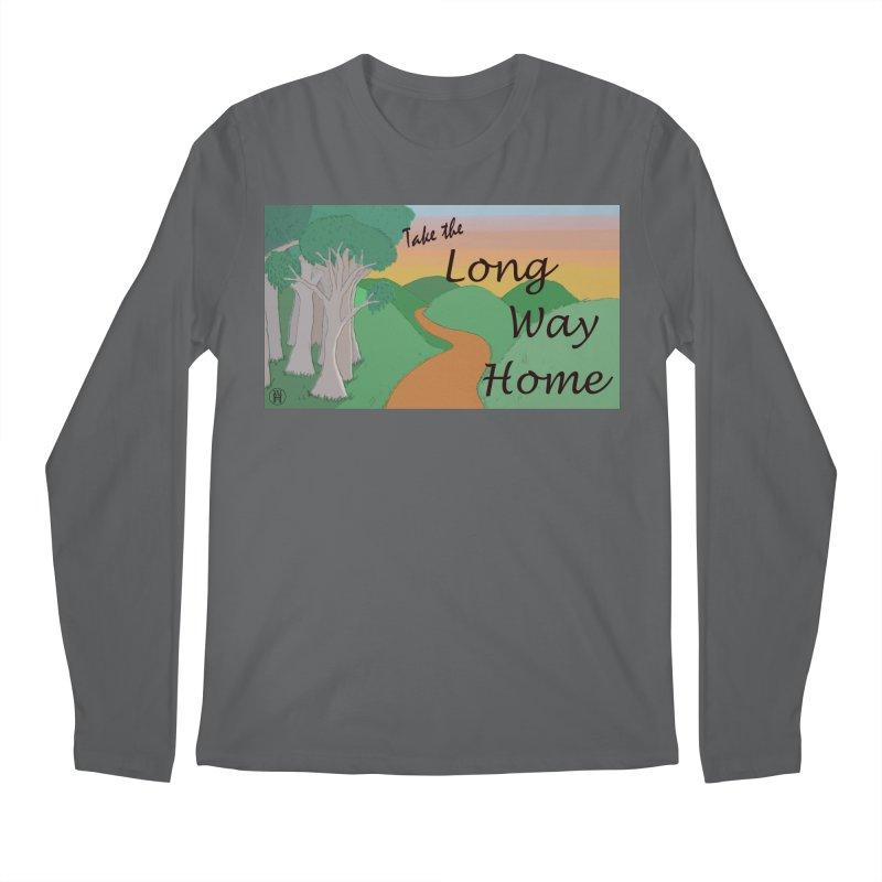 Take the Long Way Home Men's Regular Longsleeve T-Shirt by wchwriter's Artist Shop