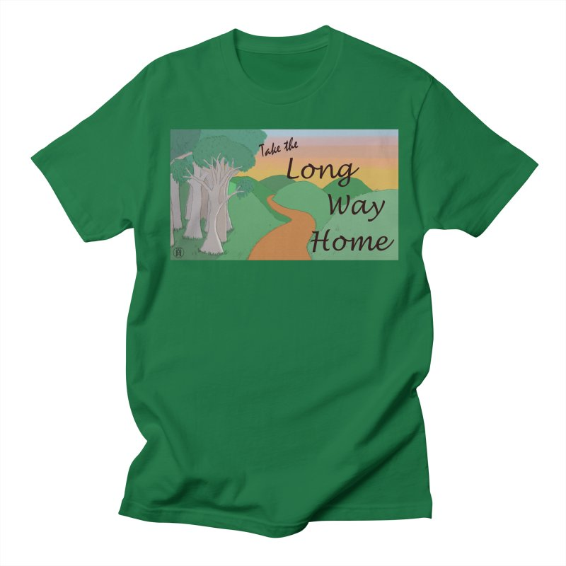 Take the Long Way Home Men's Regular T-Shirt by wchwriter's Artist Shop