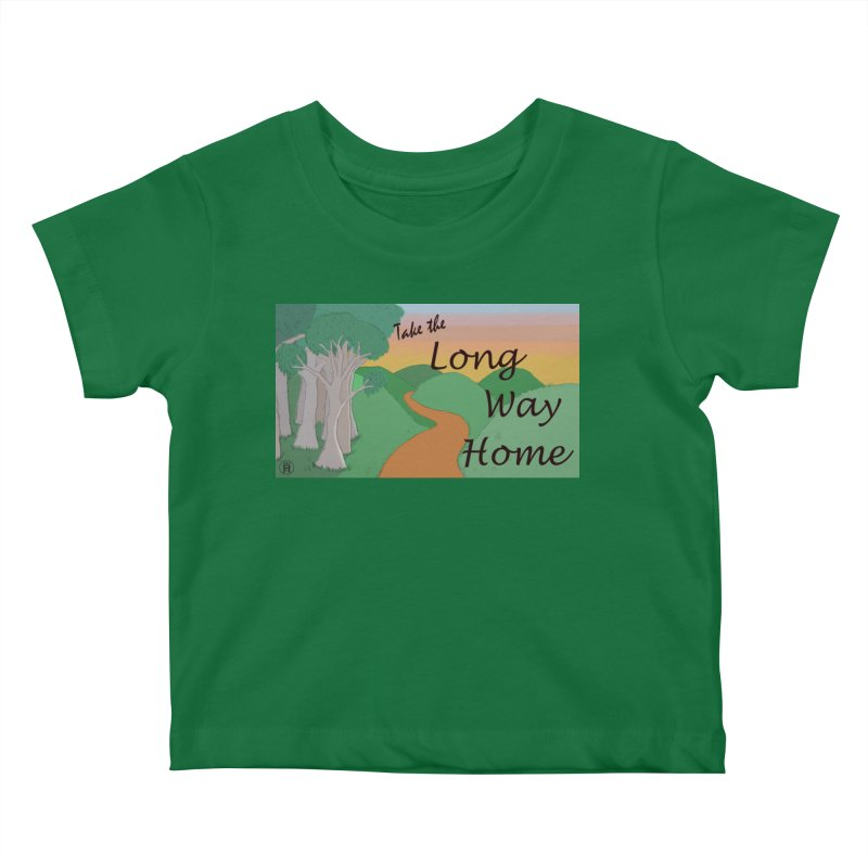 Take the Long Way Home Kids Baby T-Shirt by wchwriter's Artist Shop