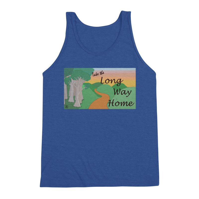 Take the Long Way Home Men's Tank by wchwriter's Artist Shop