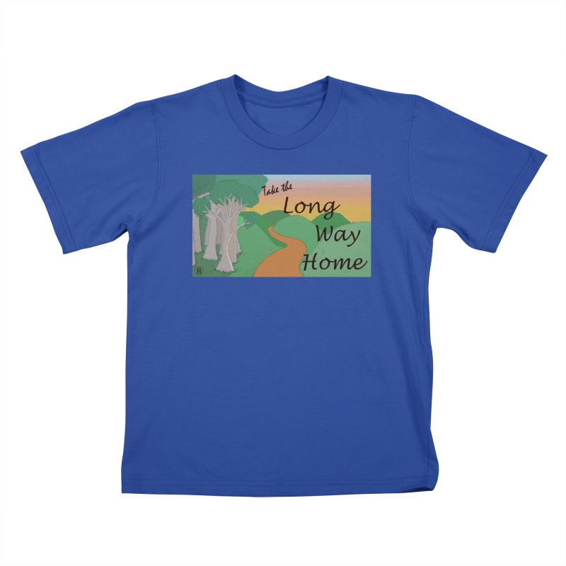 Take the Long Way Home Kids T-Shirt by wchwriter's Artist Shop
