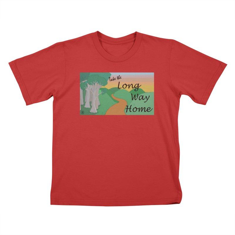 Take the Long Way Home Kids T-Shirt by wchwriter's Artist Shop