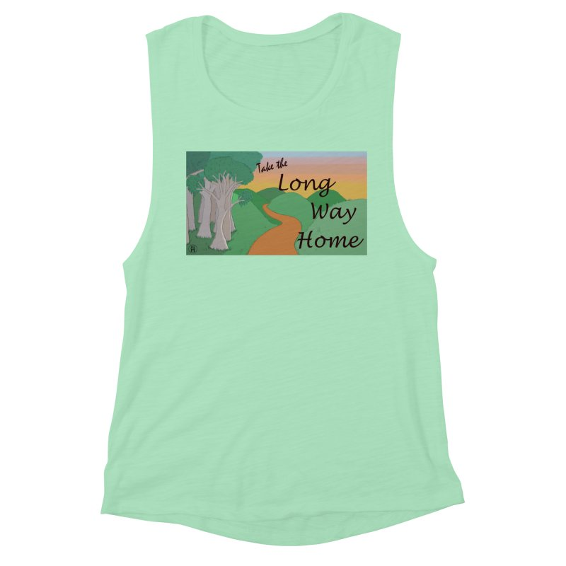 Take the Long Way Home Women's Muscle Tank by wchwriter's Artist Shop