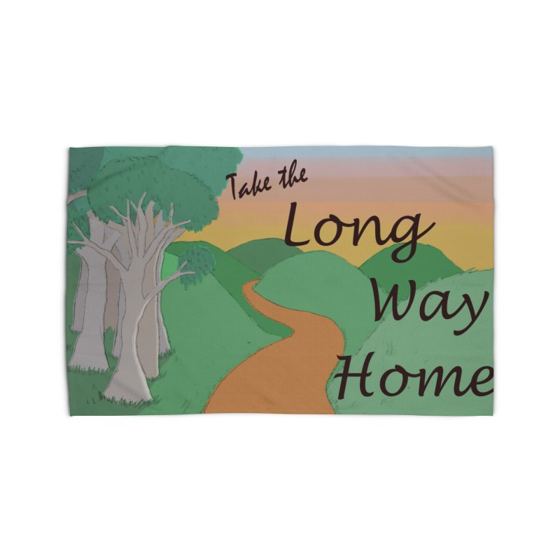 Take the Long Way Home Home Rug by wchwriter's Artist Shop