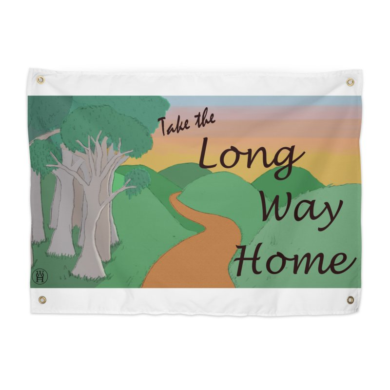Take the Long Way Home Home Tapestry by wchwriter's Artist Shop