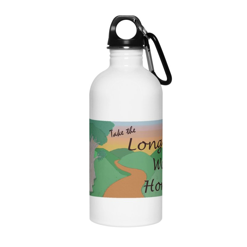 Take the Long Way Home Accessories Water Bottle by wchwriter's Artist Shop