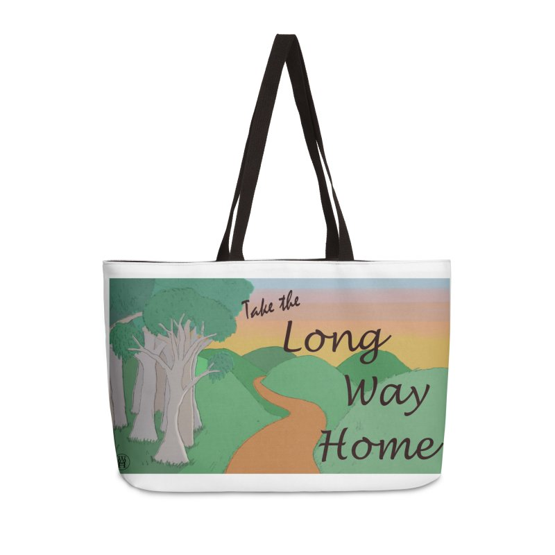 Take the Long Way Home Accessories Weekender Bag Bag by wchwriter's Artist Shop
