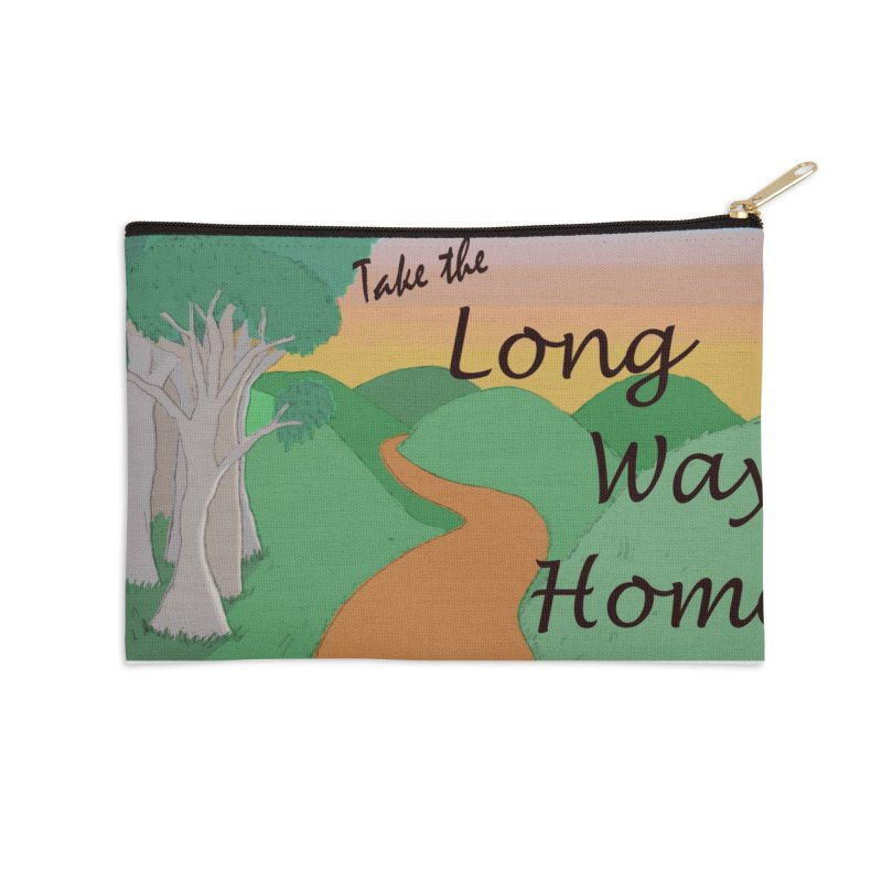 Take the Long Way Home Accessories Zip Pouch by wchwriter's Artist Shop