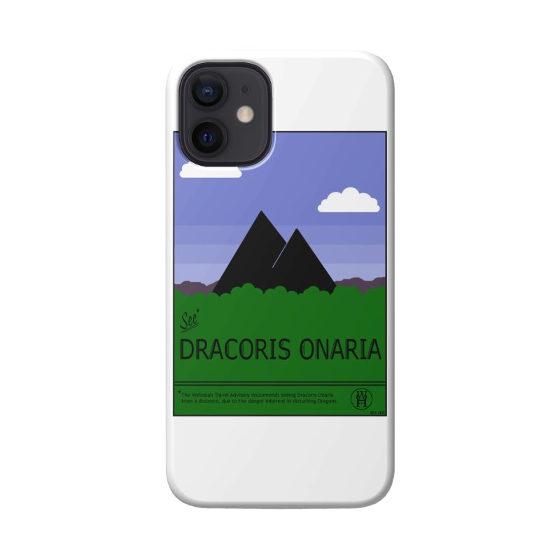 Travel Poster: Dracoris Onaria Accessories Phone Case by wchwriter's Artist Shop