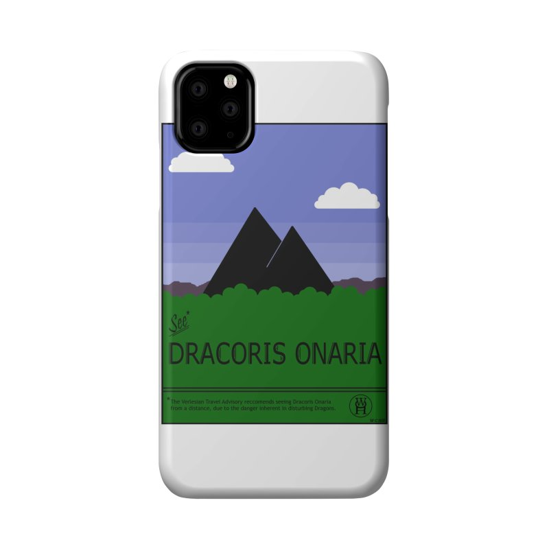 Travel Poster: Dracoris Onaria Accessories Phone Case by wchwriter's Artist Shop
