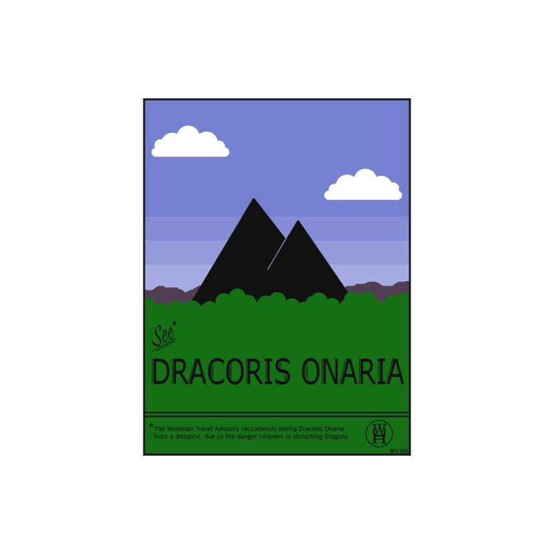 Travel Poster: Dracoris Onaria Women's Sweatshirt by wchwriter's Artist Shop