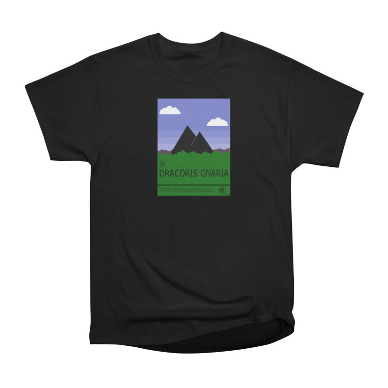 Travel Poster: Dracoris Onaria Women's T-Shirt by wchwriter's Artist Shop