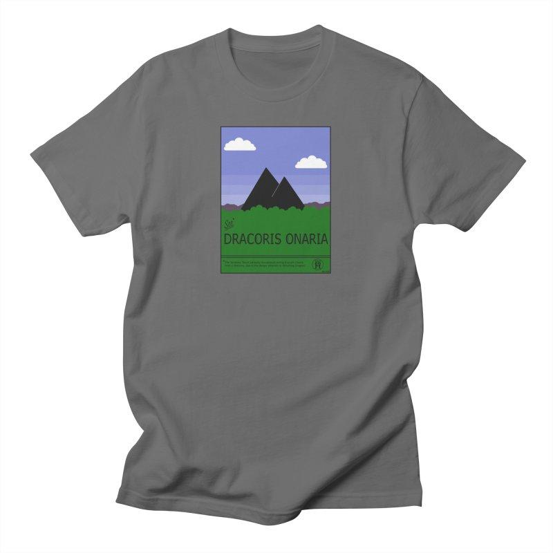 Travel Poster: Dracoris Onaria Men's T-Shirt by wchwriter's Artist Shop