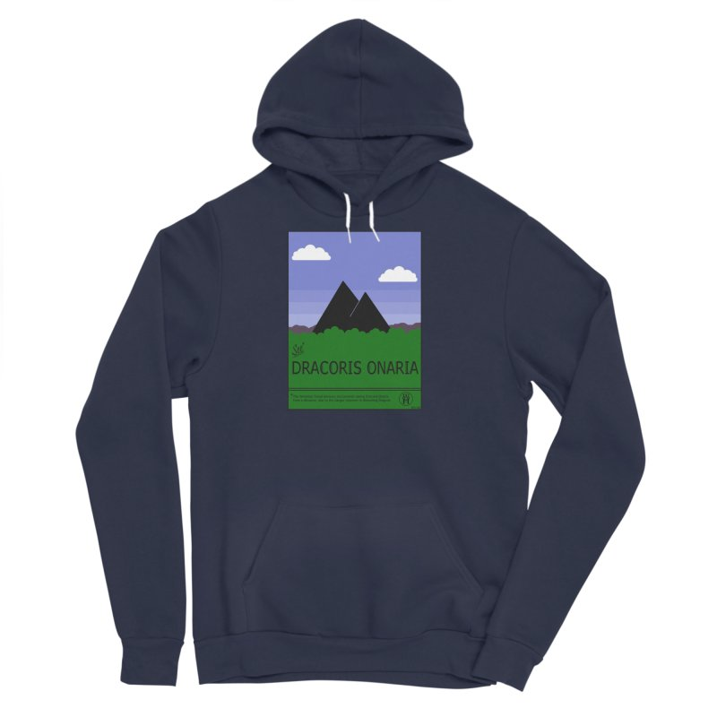 Travel Poster: Dracoris Onaria Men's Sponge Fleece Pullover Hoody by wchwriter's Artist Shop