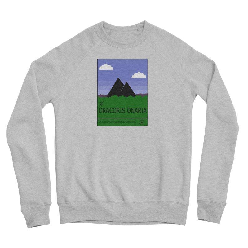 Travel Poster: Dracoris Onaria Women's Sponge Fleece Sweatshirt by wchwriter's Artist Shop