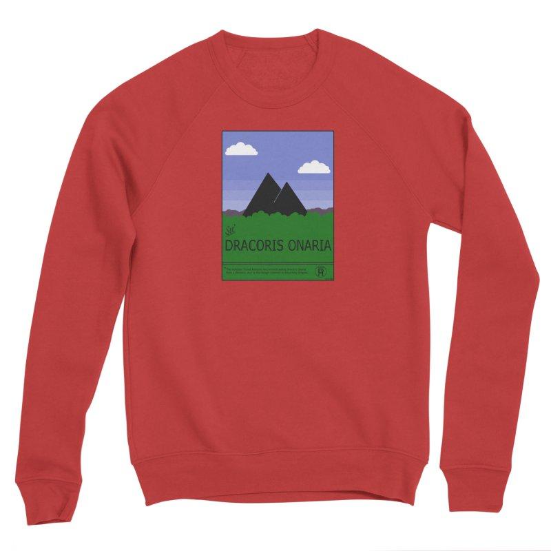 Travel Poster: Dracoris Onaria Men's Sponge Fleece Sweatshirt by wchwriter's Artist Shop